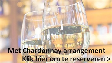 Chardonnay arrangement bij Thank God it's Donna